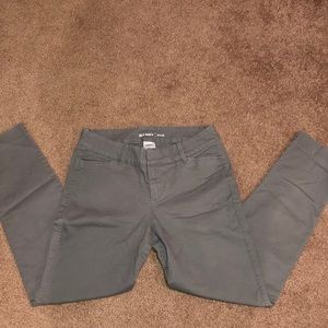 Old navy grey pixie pants